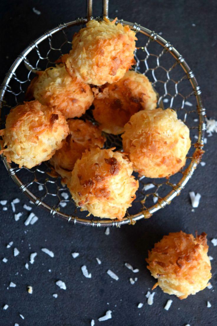2-Ingredient Coconut Macaroons - Holiday Dessert Recipe!%