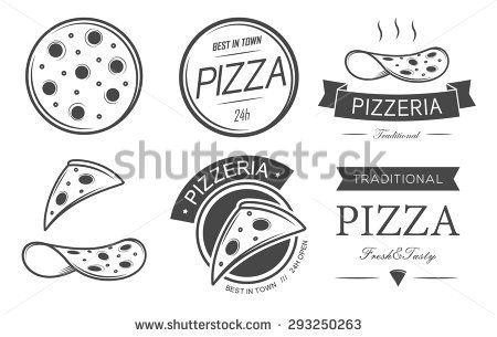 Pizza Logo Photos et images de stock | Shutterstock