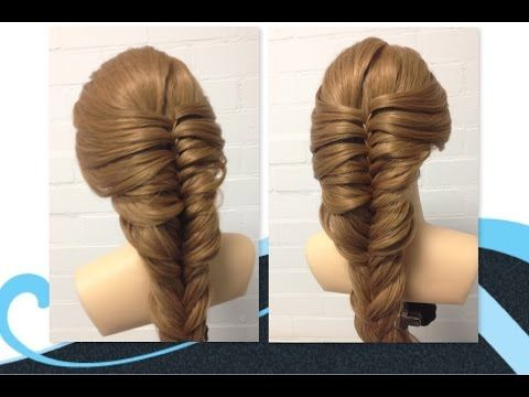 640 best hairstyle video images on pinterest hairstyles braids variatie op de 3 strengen in vlecht youtube ccuart Choice Image