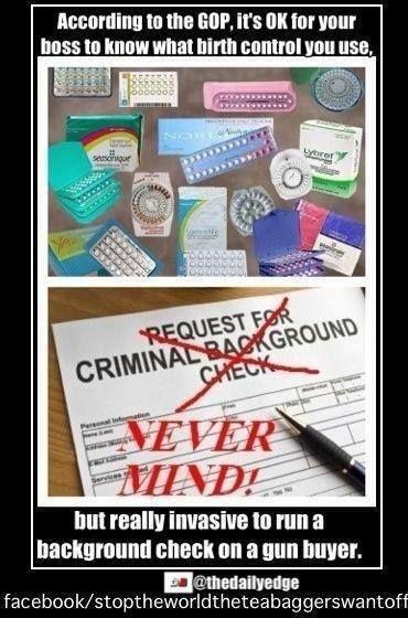 Birth control vs. gun control