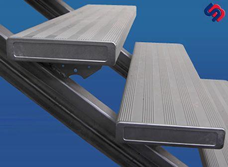 Scott Metals   Products: Aluminium Step Treads: Steel Supplies, Steel  Fabrication, Building