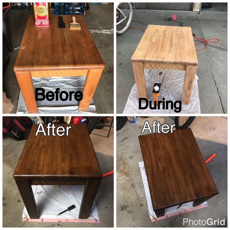 I have never restained furniture before, but this blog made it so easy! Trust me, if I can do this, anyone can!