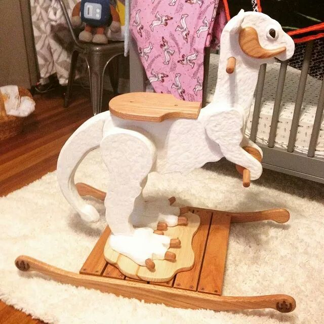 Beautiful My Friendu0027s Incredible, Hand Carved Taun Taun Rocking Horse. (x Post From  /r/StarWars) Design
