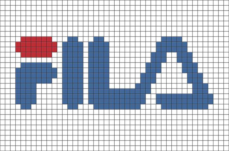 fila pixel art