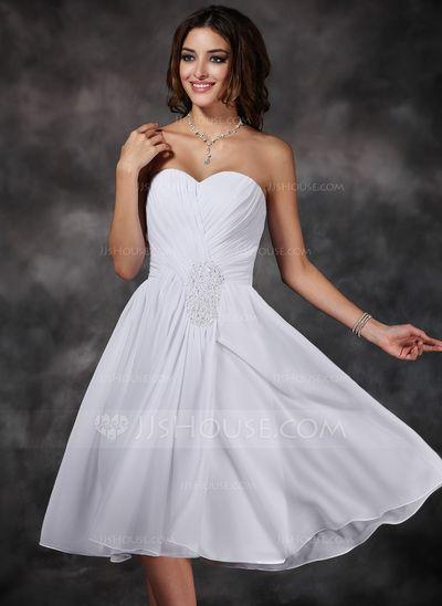Homecoming Dresses - $116.99 - A-Line/Princess Sweetheart Knee-Length Chiffon Homecoming Dress With Ruffle Beading (022008148) http://jjshouse.com/A-Line-Princess-Sweetheart-Knee-Length-Chiffon-Homecoming-Dress-With-Ruffle-Beading-022008148-g8148