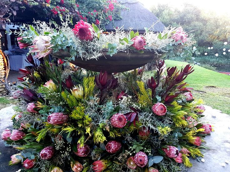 Karoo flower arrangement