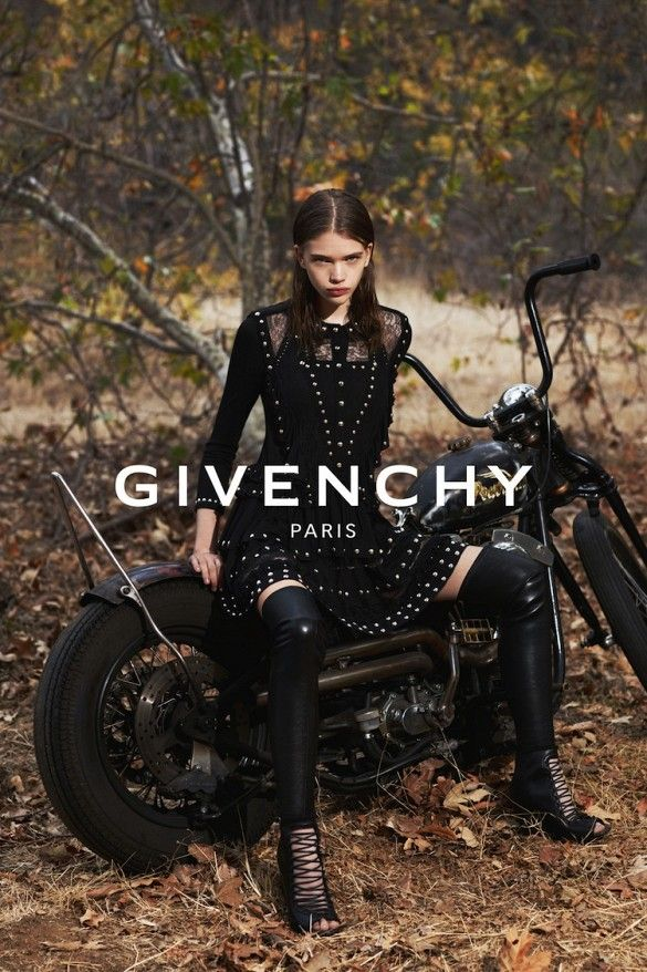 Givenchy S/S 2015 Ad Campaign // Shot by Mert & Marcus
