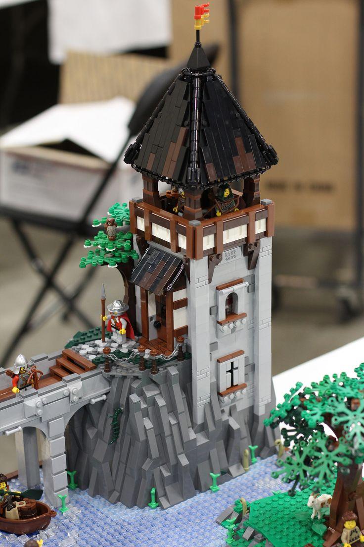 Knight's Forest Castle 03   por BrickSmithPhilip