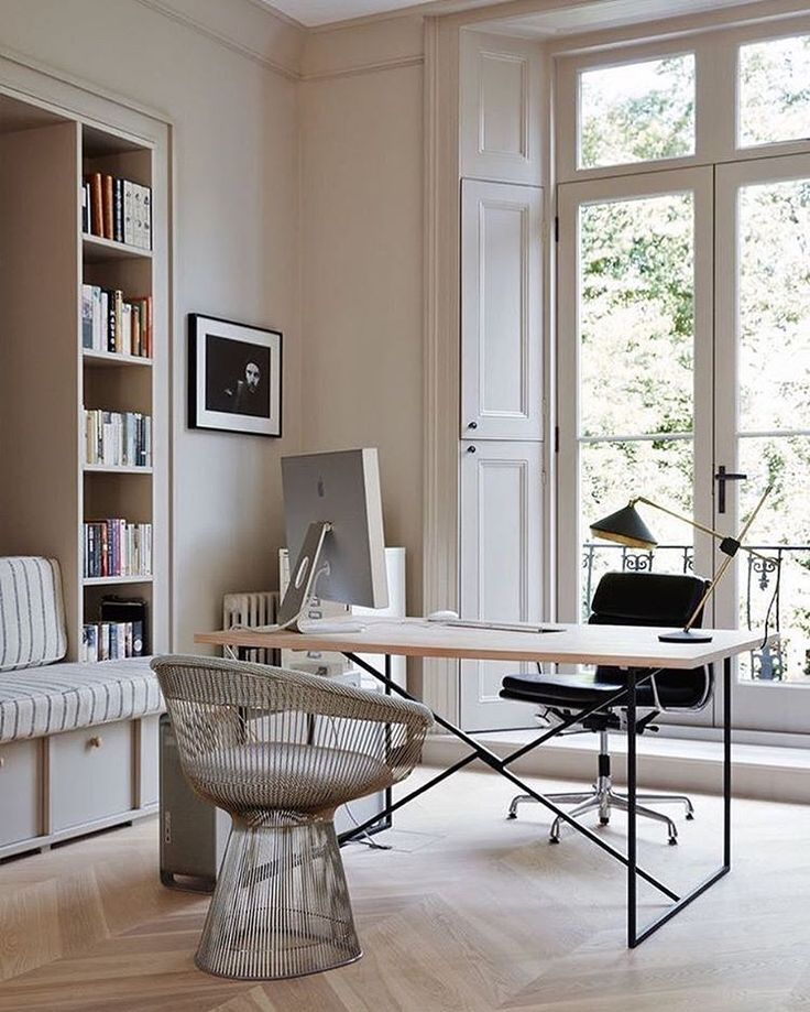 Home Officedesk Design: Em L & Browne On Instagram: Beautiful Home Office Space