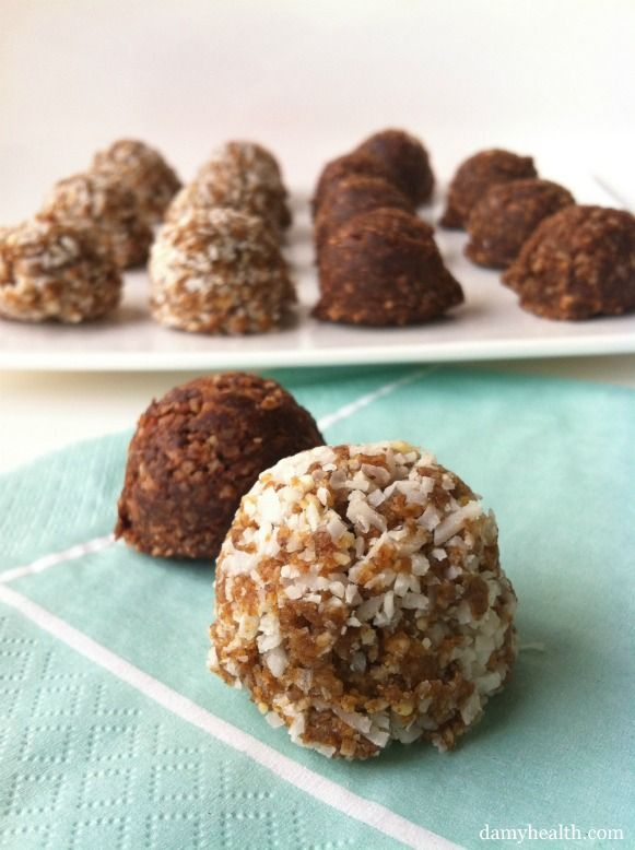 - Maca Superfood Macaroons (chocolate and blonde) -This recipe is raw, vegan, no-bake, contains maca powder, great for energy, gluten free and is a perfect travel snack