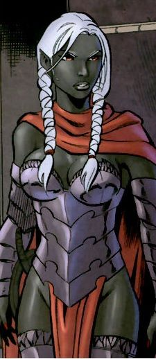 Vierna Do'Urden Drow Dark Elf Priestess Female Dungeons and Dragons Forgotten Realms Fantasy