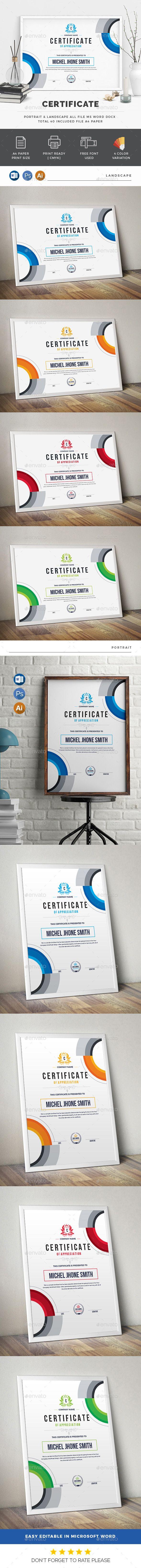 #Certificate - Certificates Stationery Download here:     https://graphicriver.net/item/certificate/20007745?ref=suz_562geid