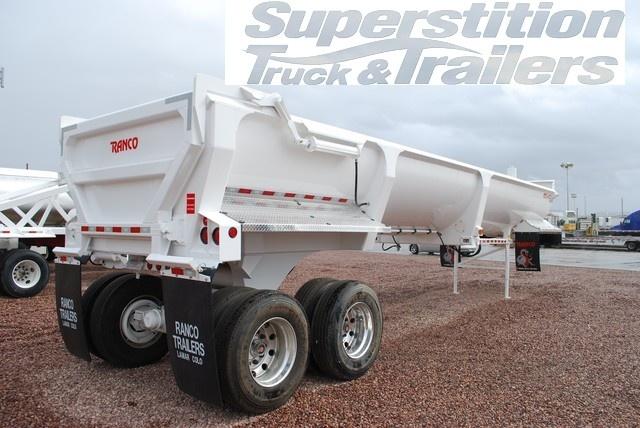 Ranco LW30-38 End Dump Trailer for sale at Superstition Trailers in Phoenix, AZ. www.stlaz.com