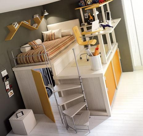 Epic Bed! Perfect for small rooms!