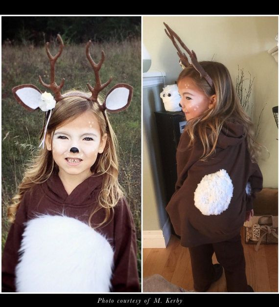 Adorable Deer Antler Headband. Cosplay Halloween von WooDnHooks