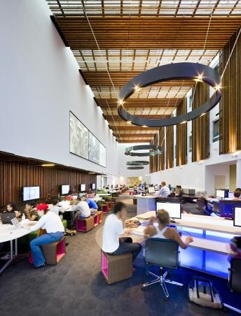 Bond University Multimedia Learning Center By Wilson Architects