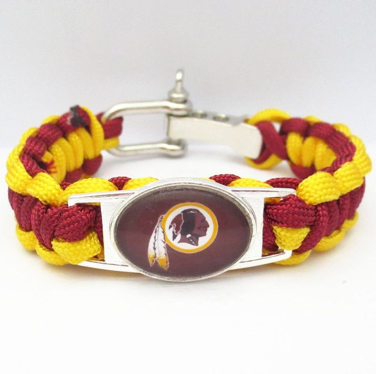 NFL Washington Redskins Football Team Bracelet