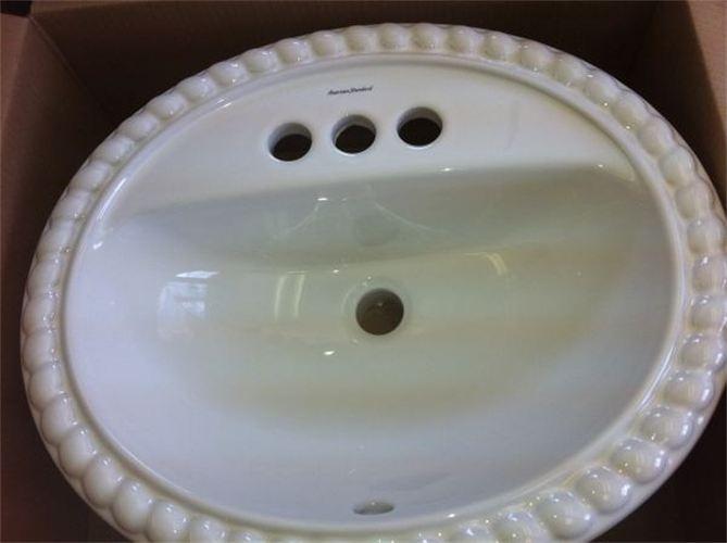 American Standard Bathroom Rope Twist Sink  American