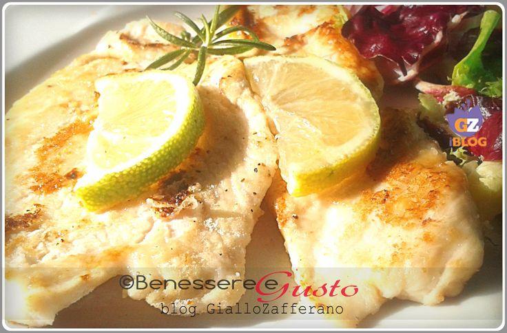 Pollo al Limone, un secondo piatto semplice e veloce, ricetta Light.