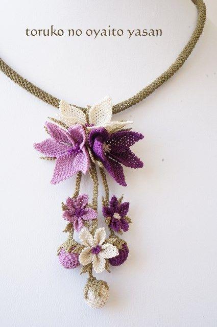 シルクイーネオヤ ネックレス   -   Silk Linguine Oya necklace