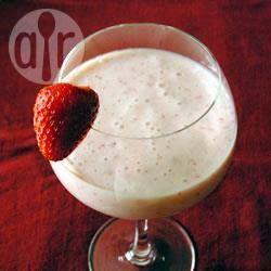 Smoothie met aardbei en banaan @ allrecipes.nl