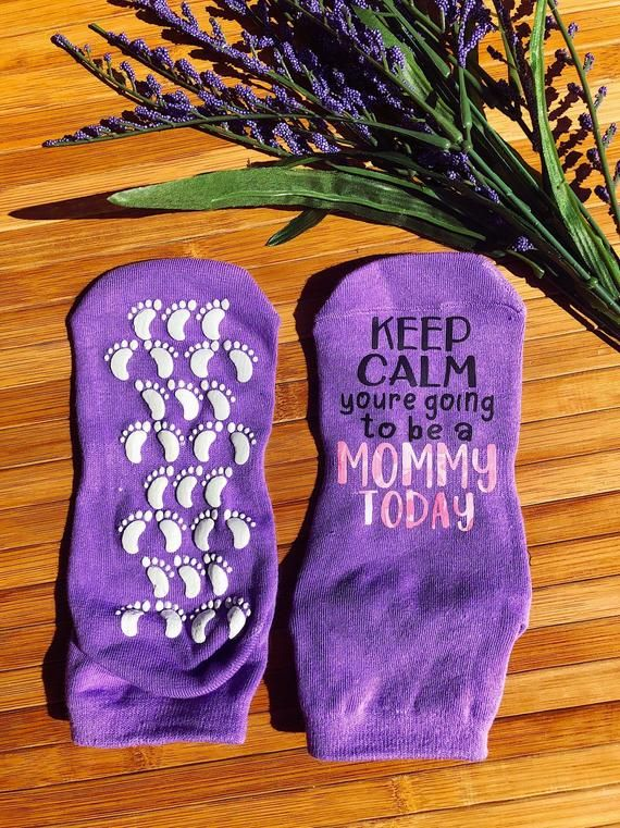 Baby Shower gift Personalized Labor and Delivery Gift labor and delivery socks If you can read this Pregnancy Baby on the way