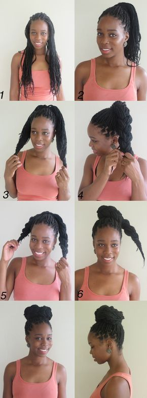 10 Instructions Directing You on How to Style Box Braids