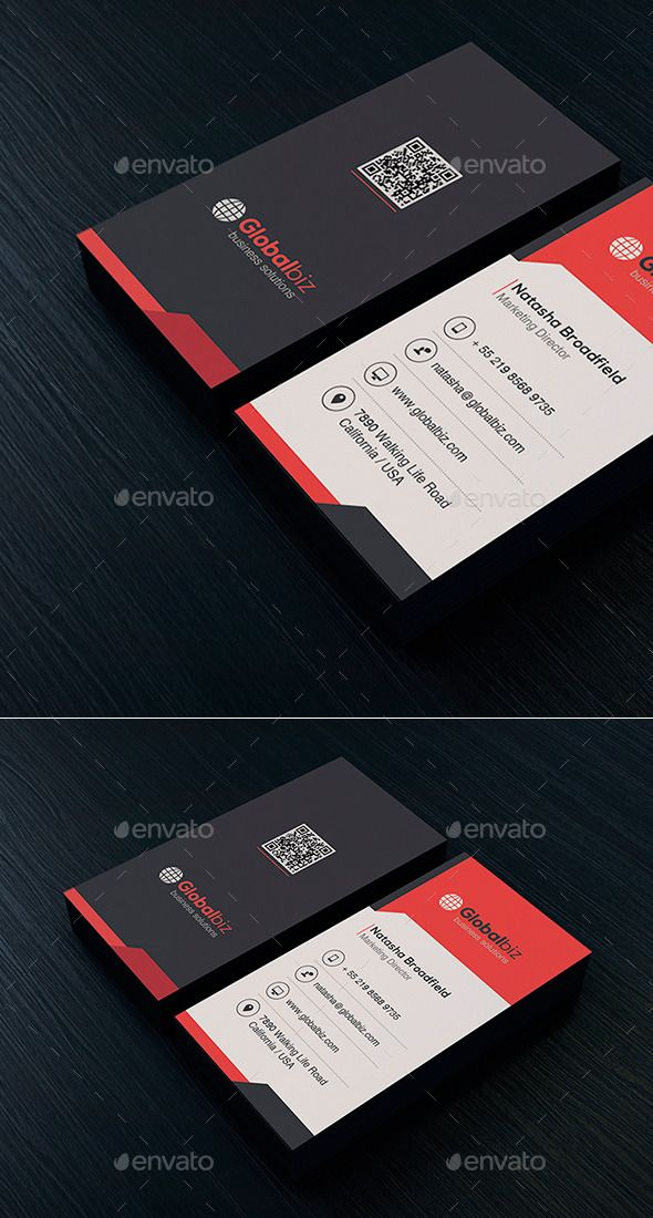 Business Card Template #design #print Download: http://graphicriver.net/item/business-card-vol-45/11984373?ref=ksioks