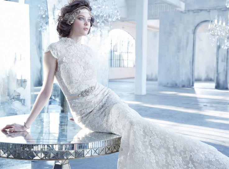 41 best Lazaro fall 2013 images on Pinterest   Wedding frocks ...