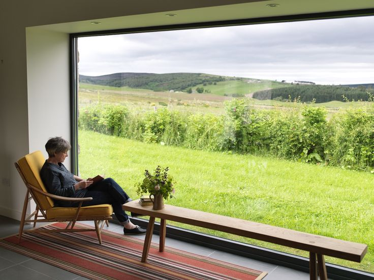 Angie and Simon Lewin's home and studio on Speyside. Architects - Dualchas. Photograph - Cristian Barnett. http://www.angielewin.co.uk
