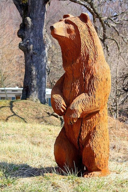 Best chainsaw carving favorite bear ideas images on
