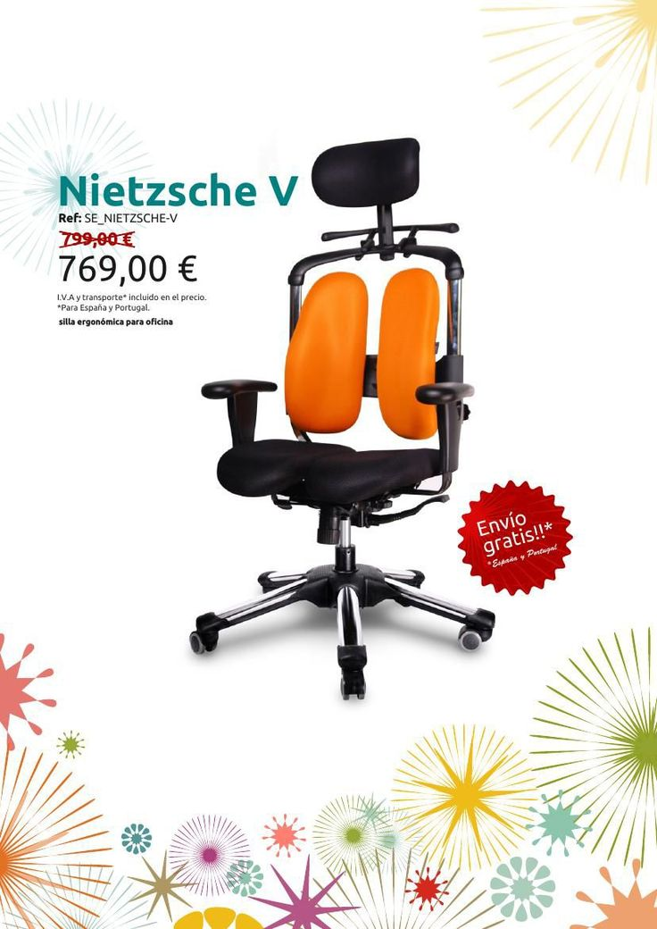 19 best silla ergon mica para oficina nietzsche v images - Silla ergonomica oficina ...