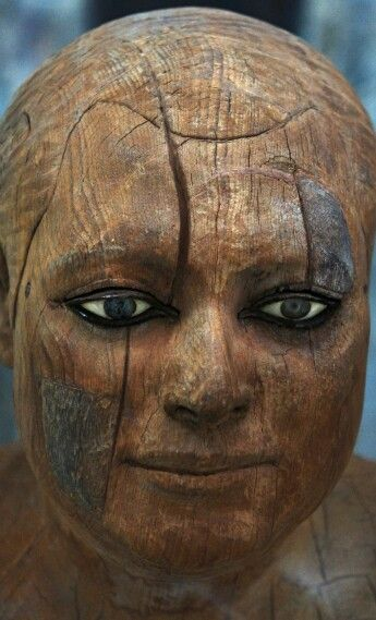 Ka-aper, priest of the Fourth Dynasty circa 2400 BCE, Egyptian Museum, Cairo, Egypt.
