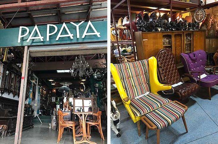 Papaya Vintage Market: caleidoscópio de curiosidades em Bangkok  #Antiguidades #décor #Decoração #Design #Feiradeantiguidade #Viagem #VIntage