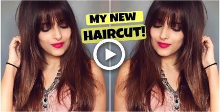 Haircut tips for Long hair- All About My New Haircut With Fringes & Long Layers Step by -  #a...