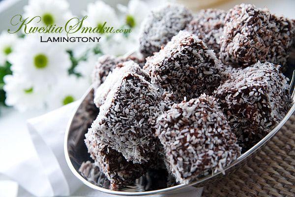 Lamingtons , bisquit coconut cake - love it