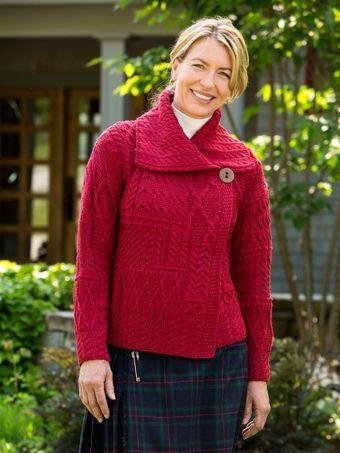 Womens Irish Sweater | Vermont Country Store