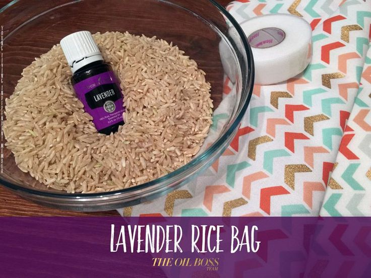 Diy Lavender Heat Bags Relieves Anxiety Stops Racing