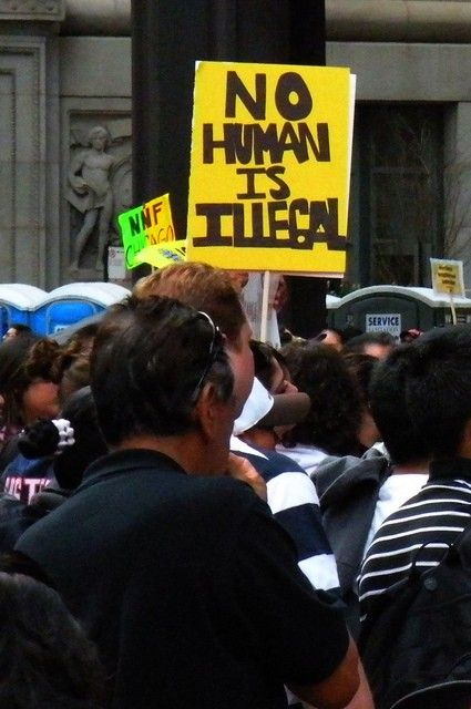 "Tracing The Shifting Meaning Of 'Alien'  I like these stories because they add context to a larger debate, in this case the language of immigration – ""anchor babies,"" and ""illegal aliens."" Those terms, and that particular language have evolved. It wasn't too long ago that ""illegal"" was a preferred term, and among many Latinos along the U.S. border the word ""mojado"" is used with ubiquitous ease."