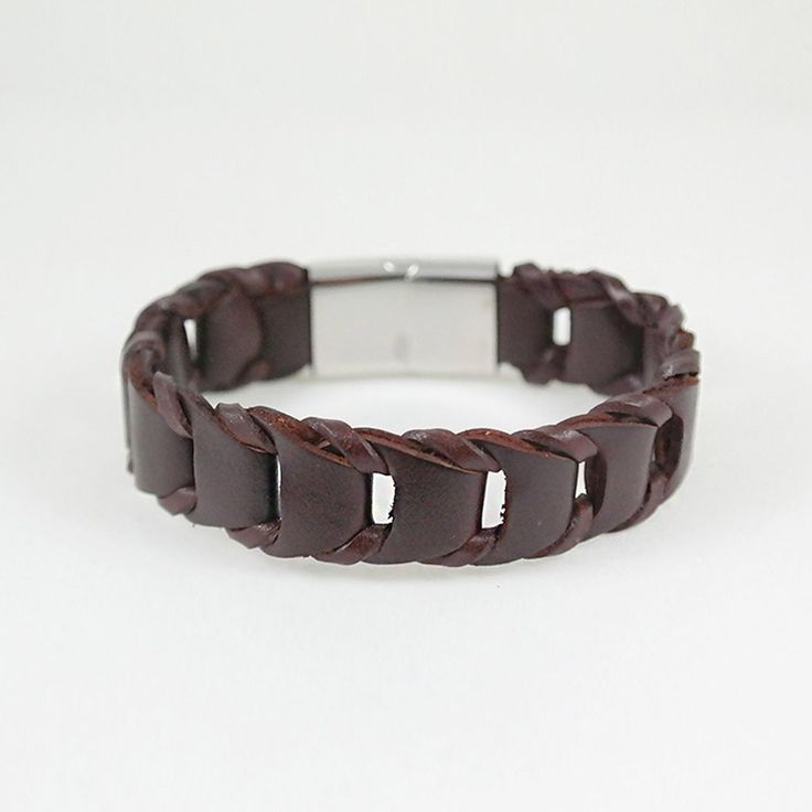 George Cuff / brown leather