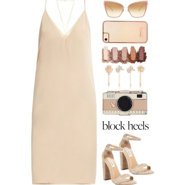 A fashion look from May 2017 featuring Raey dresses, Steve Madden sandals and Gorjana necklaces. Browse and shop related looks.