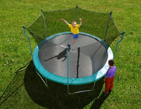 Jump for joy with the Trainor Sports - 15' Trampoline and Enclosure Combo for $298 (was $396) at Walmart.ca! #SwishList #ChristmasGiftGuide JayneDoe1956@swagbucks #SwishList #ChristmasGiftIdeas