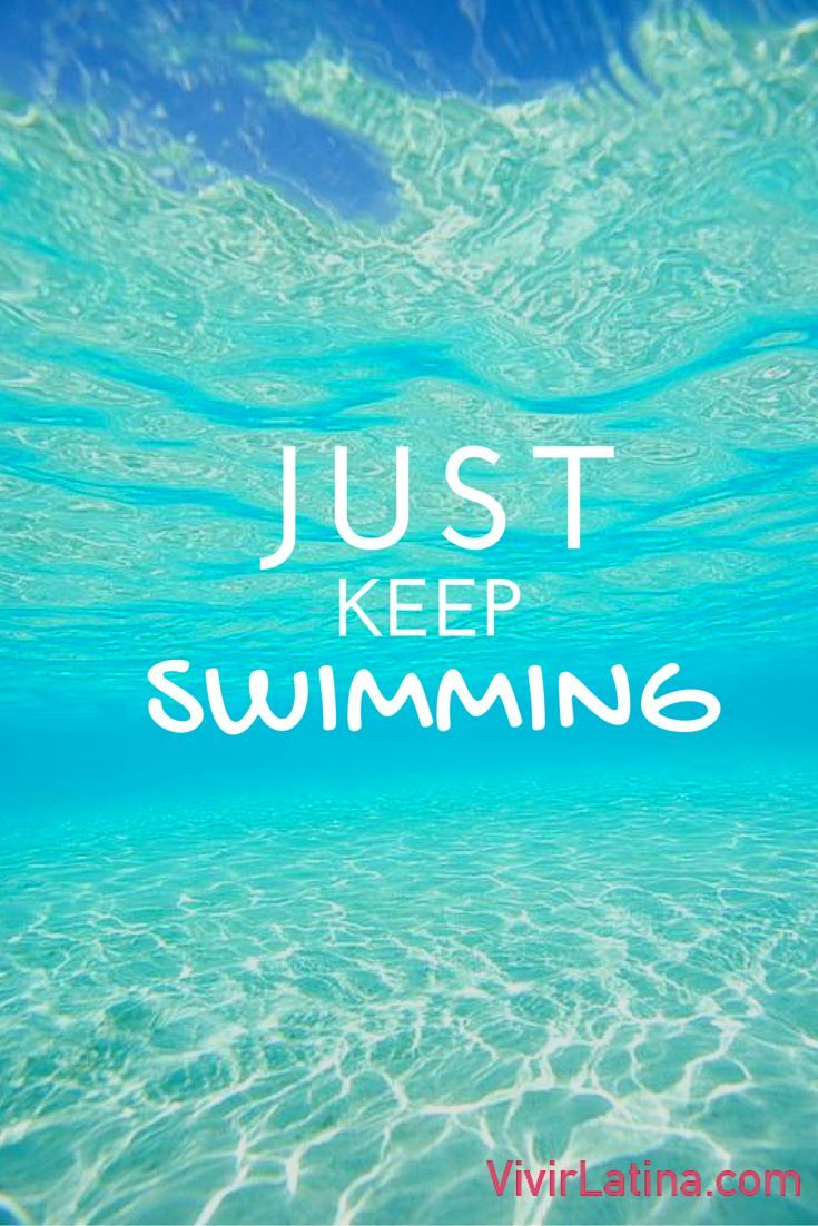 just keep swimming #frases #lifestyle