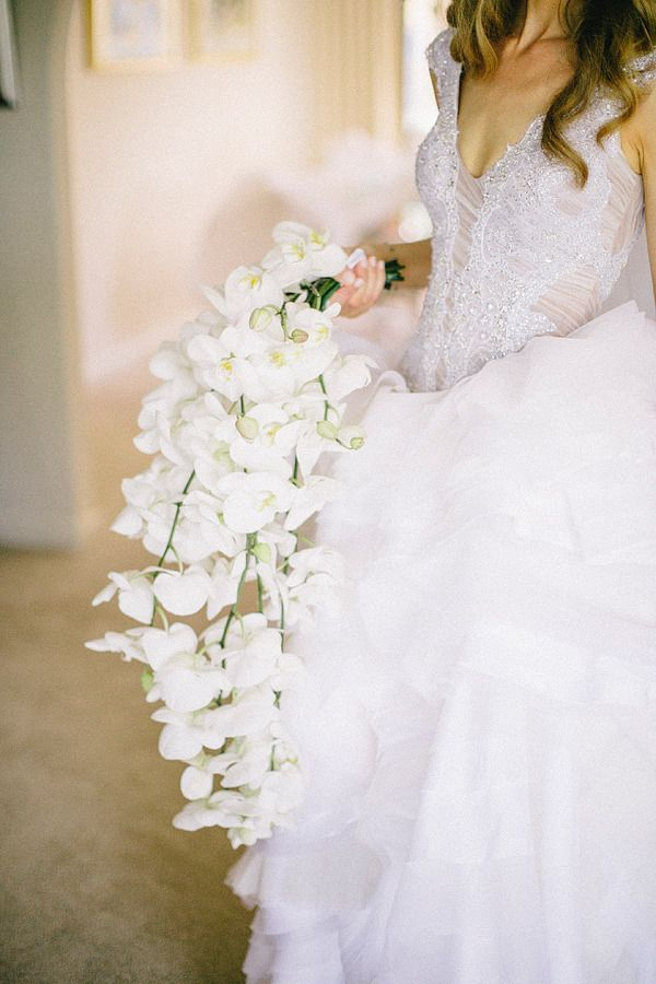 Silk Wedding Bouquets Perth Wa : Best images about waterfall bouquets on