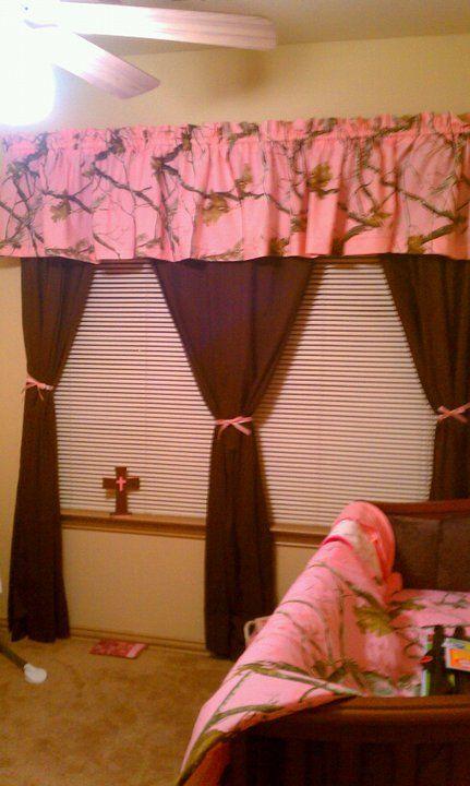 Curtains (no pink...lol)