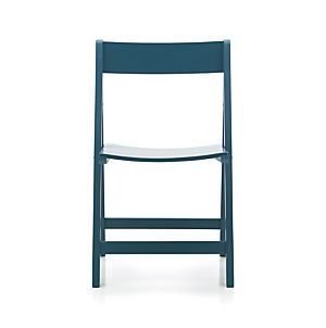 Vintner Peacock Side Chair In Dining Chairs | Crate And Barrel