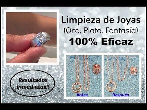 ☆☆ LIMPIEZA DE JOYAS (Oro, Plata, Fantasía) 100% EFICAZ ☆☆ - YouTube