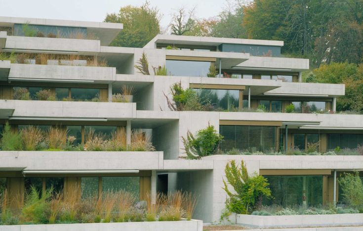 Eins zu Eins & Forster & Uhl Architekten - Rombachtäli terrace housing, Rombach 2012. Via, photos © Michael Freisager.
