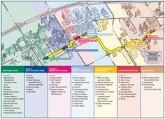 Las Vegas Strip Map Monorail | Las Vegas possui um clima semiárido, registrando menos que 100 ...