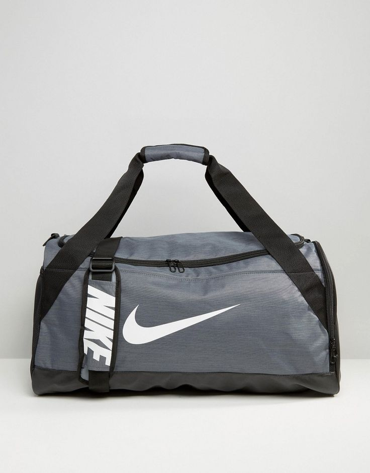 Get this Nike's sports bag now! Click for more details. Worldwide shipping. Nike Medium Brasilia Holdall Bag In Grey BA5334-064 - Grey: Holdall by Nike, Supplier code: BA5334-064, Fabric outer, Twin handles, Adjustable strap, Zip-top closure, External pockets, Machine wash, 100% Polyester. Back in 1971 Blue Ribbons Sports introduced the concept of the Greek Goddess of Victory - Nike. Founded a year later in 1972, Nike have a long and esteemed history of creating functional yet stylish…